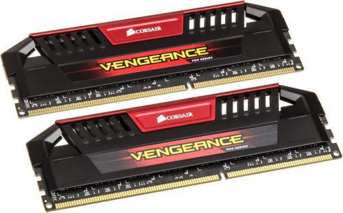 Corsair Vengeance Pro Red DDR3, 2x4GB, 2400MHz, CL11 (CMY8GX3M2A2400C11R)