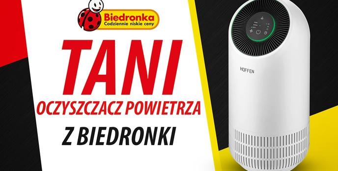 Niedrogi oczyszczacz powietrza w Biedronce!