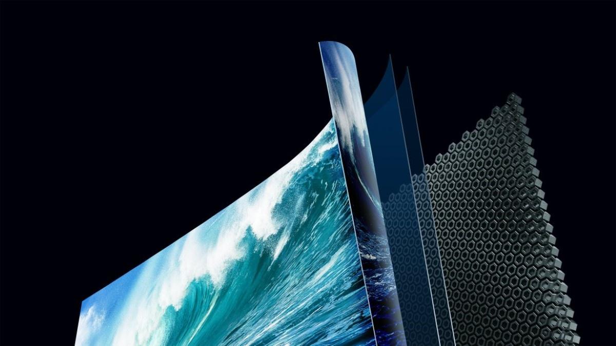 Hisense 88L5V ekran dźwiękowy