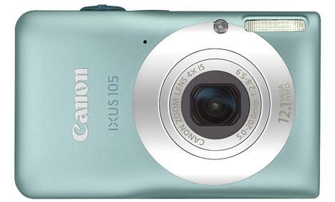 Canon IXUS 105 IS - poręczny, prosty w obsłudze aparat cyfrowy