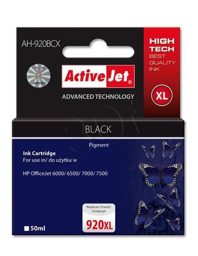 ActiveJet AH-920BCX tusz czarny do drukarki HP (zamiennik HP 920XL CD975AE) Premium