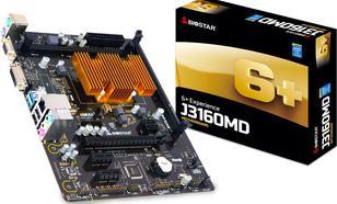 Biostar J3160MD, J3160, DDR3, SATA3, USB 3.0, microATX