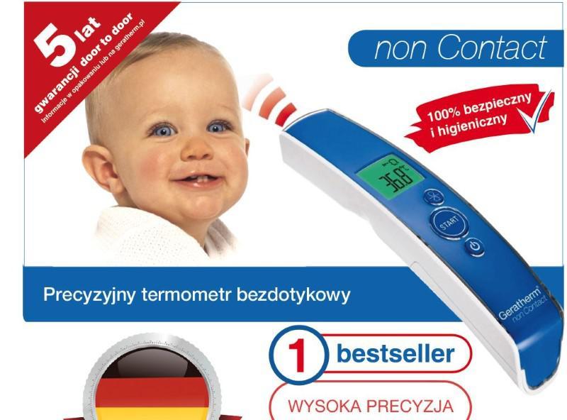 Geratherm Non Contact zapewnia niemiecką jakość