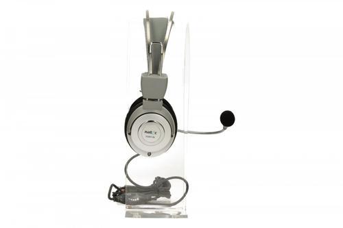 NATEC Słuchawki Scorpion + Mikrofon