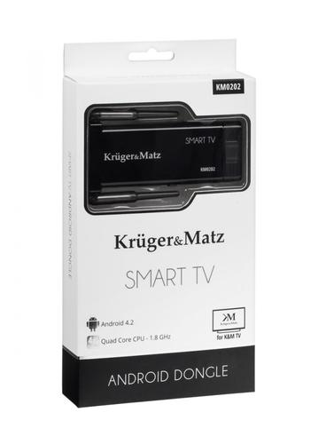 Kruger & Matz Smart TV Android dongle ( Quad core RK3188, BT) ANDROID 4.2