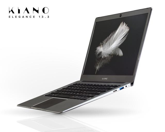 Laptop jest smukły, ale wydajny.