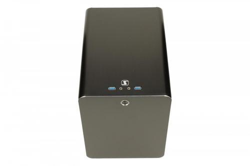 SilentiumPC Gladius Q50 Pure Black M-ITX Aluminium