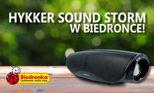 Głośnik Hykker Sound Storm Już w Poniedziałek w Biedronce!