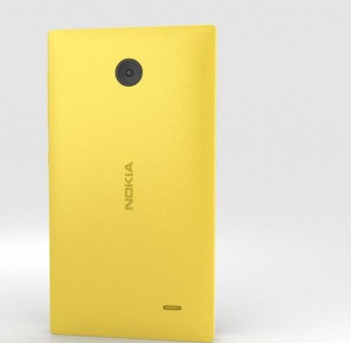 Nokia X DS NV PL YELLOW