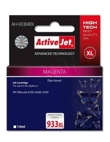 ActiveJet AH-933MRX tusz magenta do drukarki HP (zamiennik HP 933XL CN055AE) Premium