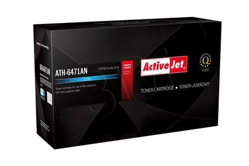 ActiveJet ATH-6471AN cyan toner do drukarki laserowej HP (zamiennik 502A Q6471A) Premium