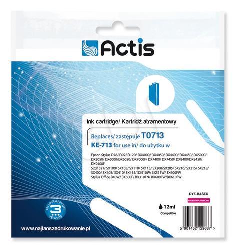 Actis KE-713 tusz magenta do drukarki Epson (zamiennik Epson T0713) Supreme