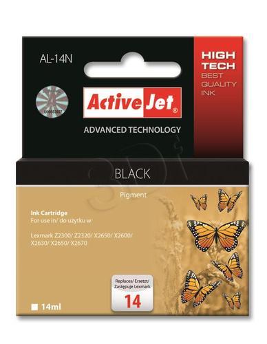 ActiveJet AL-14N tusz czarny do drukarki Lexmark (zamiennik Lexmark 14 18C2090) Supreme