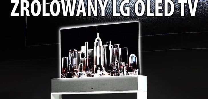Kogo chce wyrolować LG na targach CES 2019? Z pewnością telewizor!