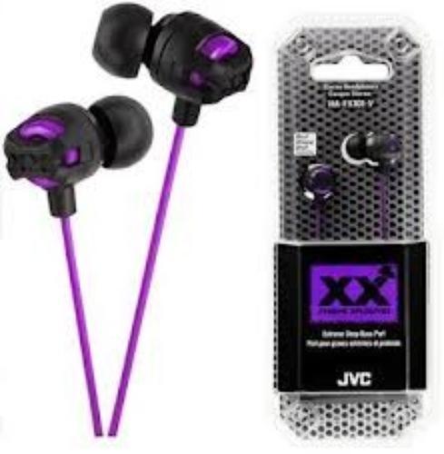 JVC Słuchawki douszne HA-FX101-V-E VIOLET