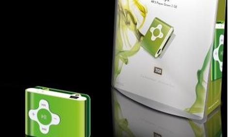 Sweex Clipz MP3 Player - solidny i tani