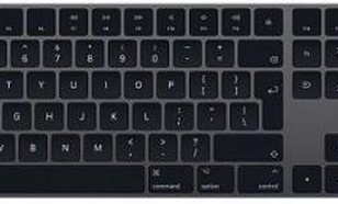 Apple Magic Keyboard z polem numerycznym Gwiezdna Szarość - do ponad