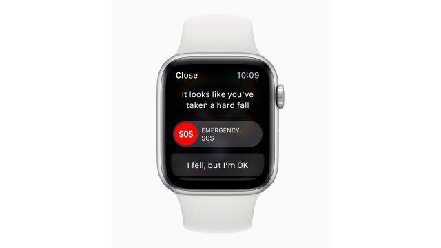Apple Watch 4 szpital