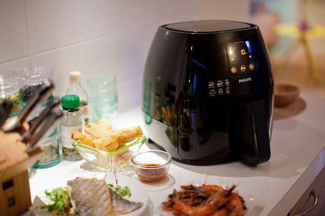 frytkownica Philips Airfryer HD9240 90 w kuchni