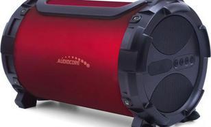 Audiocore bazooka AC880 bluetooth microSD bordo