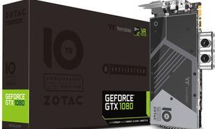 Zotac GeForce GTX 1080 8GB ArcticStorm ThermalTake 10 Year Anniversary Edition 8GB GDDR5X (256 Bit) HDMI, DVI, 3xDP, BOX (ZT-P10800G-30P)