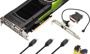 PNY Technologies Quadro P6000 24GB GDDR5X (384Bit) DVI-I, 4xDP (XVCQP6000-PB)