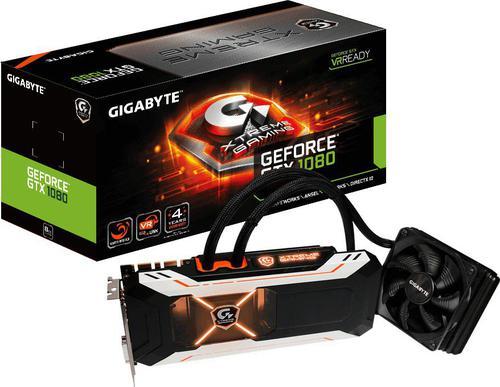 Gigabyte GeForce CUDA GTX1080 Xtreme 8GB GDDR5 (256 Bit) DVI, HDMI, 3xDP (GV-N1080XTREME W-8GD)