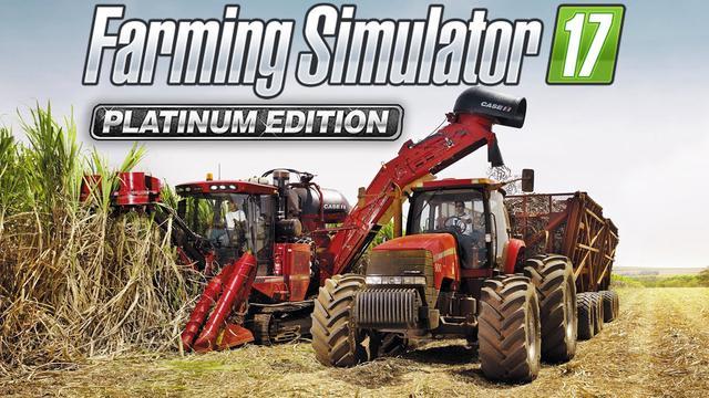 prezent na święta dla chłopaka - Farming Simulator 17 Platinum Edition
