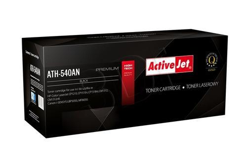 ActiveJet ATH-540AN czarny toner do drukarki laserowej HP (zamiennik 125A CB540A) Premium