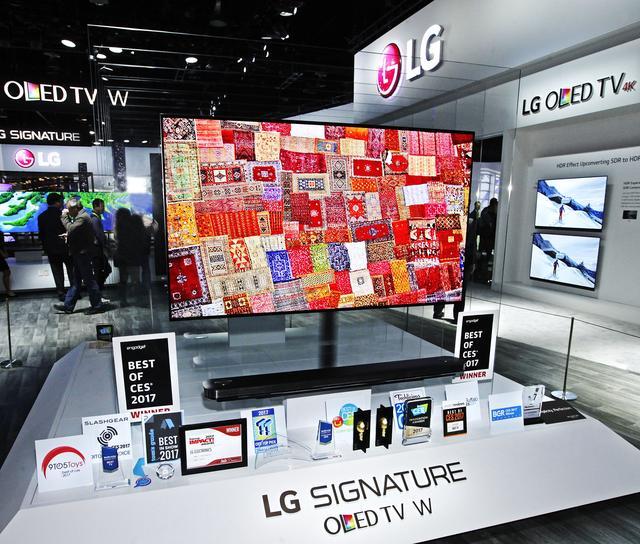 Telewizor LG Signature W7 – Najlepszy Z Najlepszych Na CES 2017