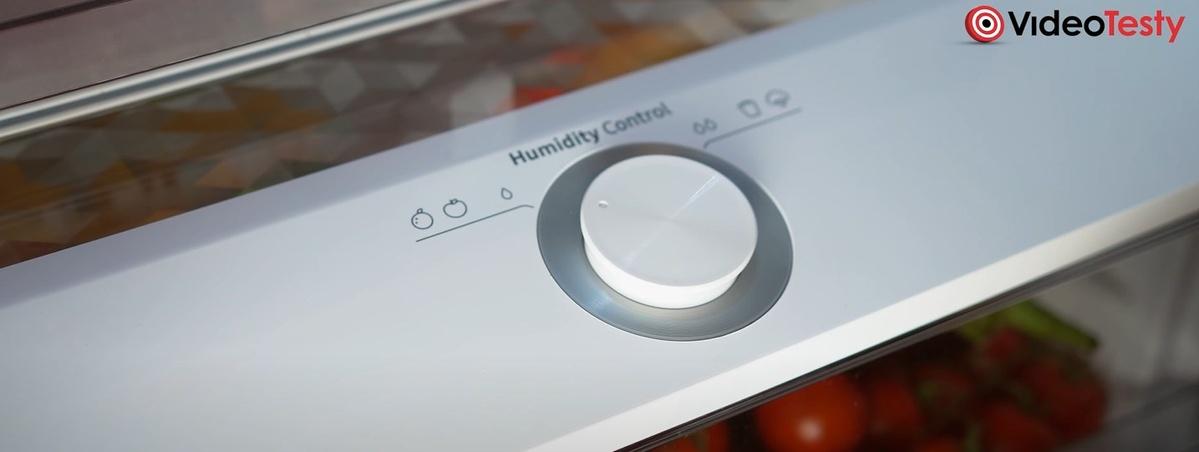 W szufladzie Humidity Fresh+ sami zmienimy poziom wilgotności