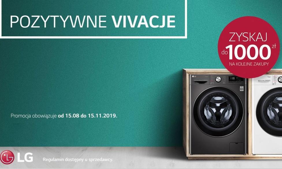 Pralki LG Vivace - Do kupienia z bonem rabatowym