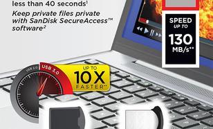 SanDisk ULTRA FIT USB 3.0 32GB (do 130MB/s)