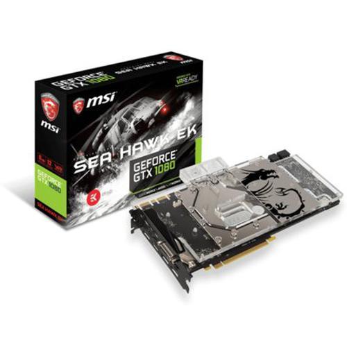 MSI GeForce CUDA GTX1080 SEA HAWK EK X 8GB DDR5 256BIT DVI/HDMI