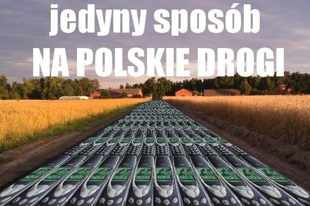 polskie drogi a nokia 3310