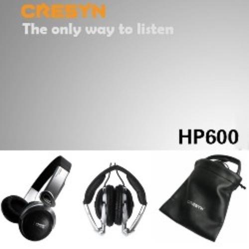 Cresyn HP600 Słuchawki Nauszne HI-FI Outdoor