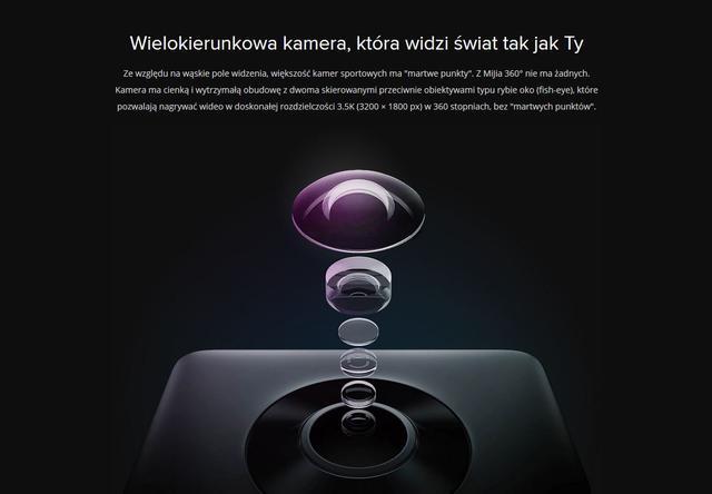 Kamera nagrywa w 3,5K, robi zdjęcia w 7K!