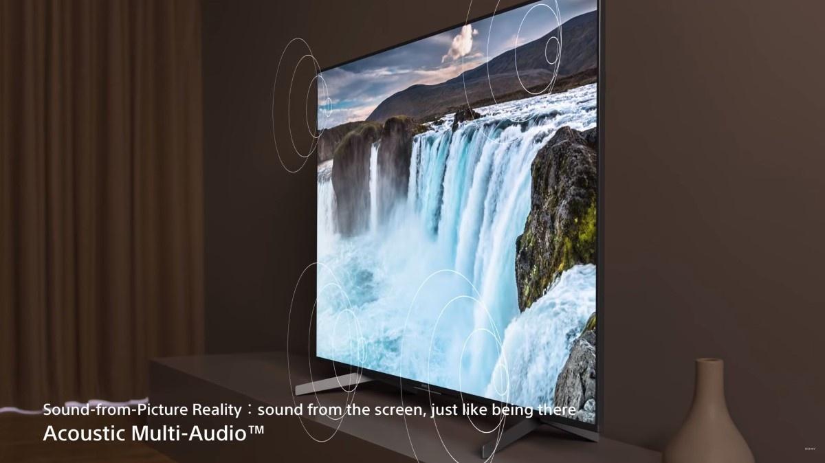 Działanie systemu Acoustic Multi Audio