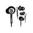 Cresyn AXE5s Czarne słuchawki do telefonu z pilotem i mikrofonem