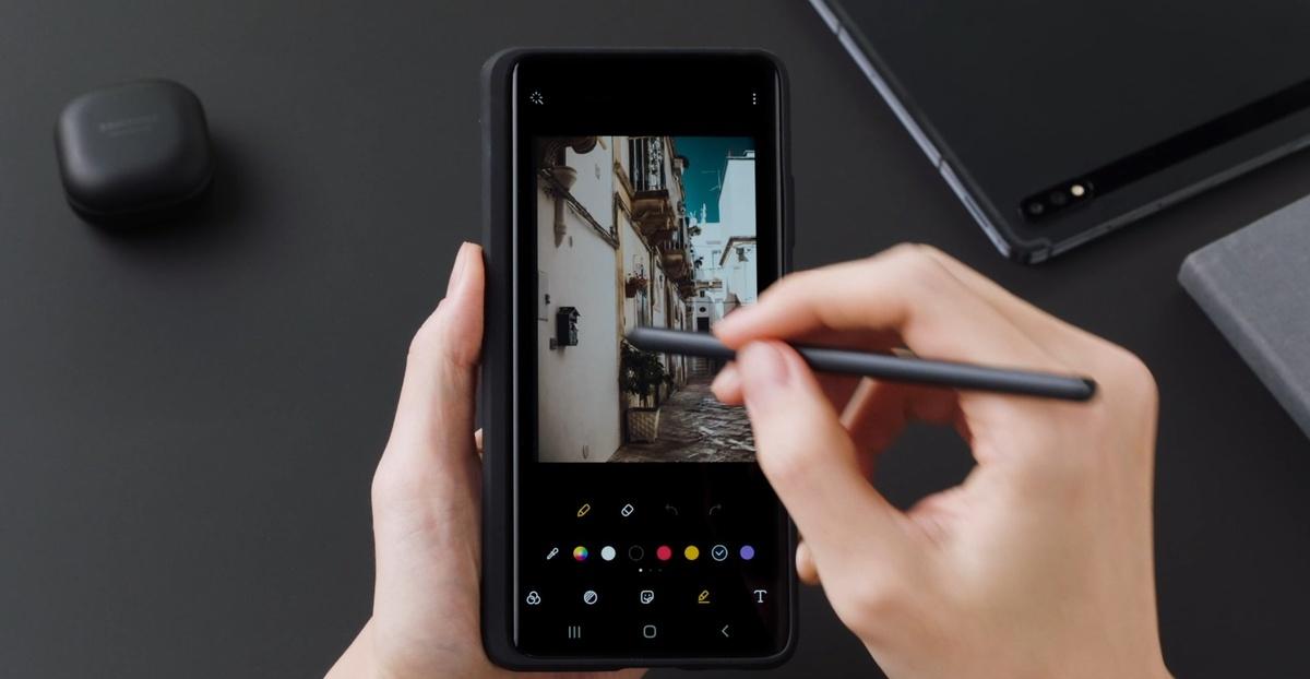 S Pen w S21 Ultra pozwoli korzystać z dobrodziejstw serii Note