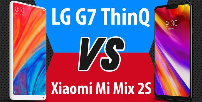 LG G7 ThinQ vs Xiaomi Mi Mix 2S