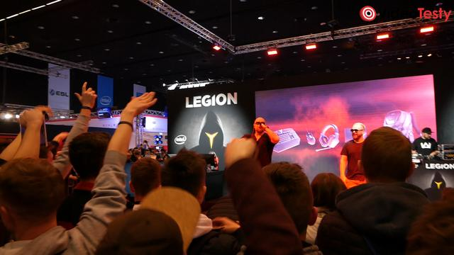 TEDE na stoisku LENOVO LEGION