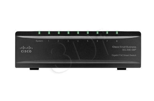 CISCO SLM2008PT-EU 8x 10/100/1000 Gigabit Switch