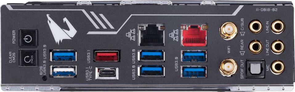 Gigabyte Gigabyte X299 AORUS Master, RGB Fusion, DDR4, Triple M.2,
