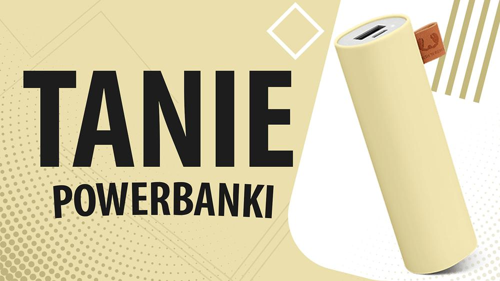 Jaki tani powerbank do 50 zł? |TOP 7|