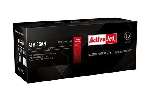 ActiveJet ATH-35AN czarny toner do drukarki laserowej HP (zamiennik 35A CB435A) Premium
