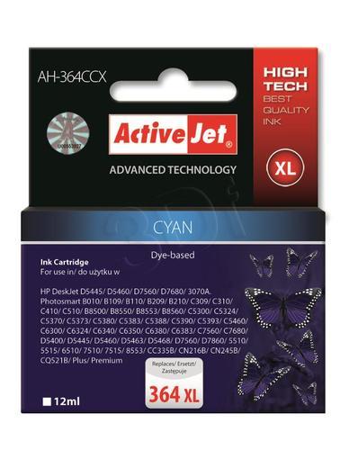 ActiveJet AH-364CCX tusz cyan do drukarki HP (zamiennik HP 364XL CB323EE) Premium