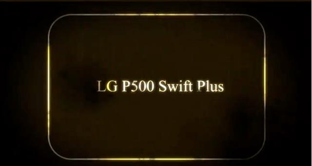 LG P500 Swift Plus - prezentacja telefonu