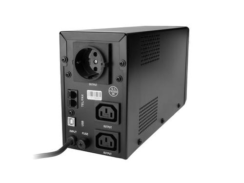 GEMBIRD UPS LINE-INTERACTIVE 850VA 2X IEC 230V OUT, USB, LCD