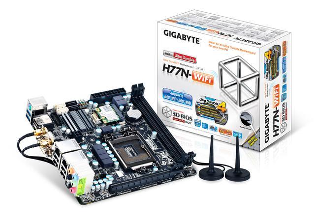 H77N-Wifi – Mini-ITXowe cacko od GIGABYTE